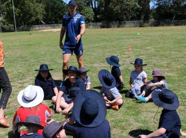 Geelong Cats Footy Clinic